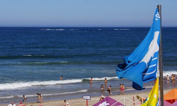 Areais das praias do concelho com capacidade para receber 12080 pessoas em simultâneo