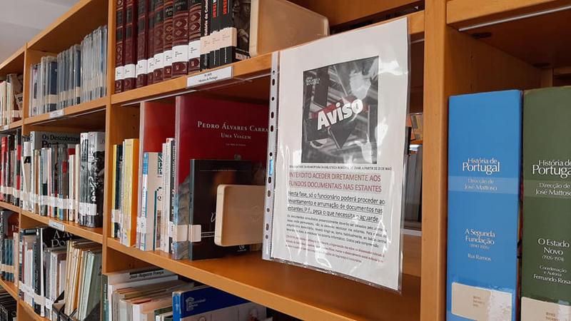 Biblioteca Municipal de Ovar: Salas de leitura, postos informáticos e net reabrem com lotação limitada