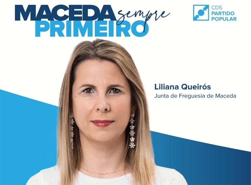 Eleições Autárquica: Liliana Queirós é a candidata do CDS à Junta de Freguesia de Maceda