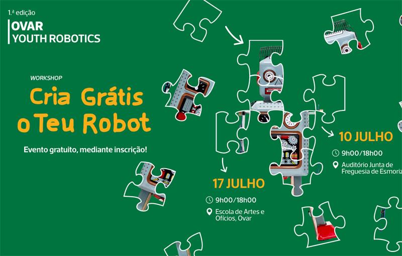"""Ovar Youth Robotics"" arranca esta semana"