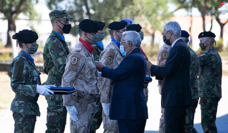 Militar ovarense condecorado pelo Primeiro-Ministro