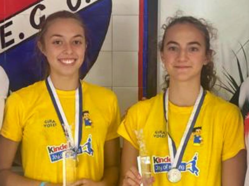 Voleibol ao ar livre: Bárbara Castro e Sofia Loureiro sagraram-se campeãs nacionais