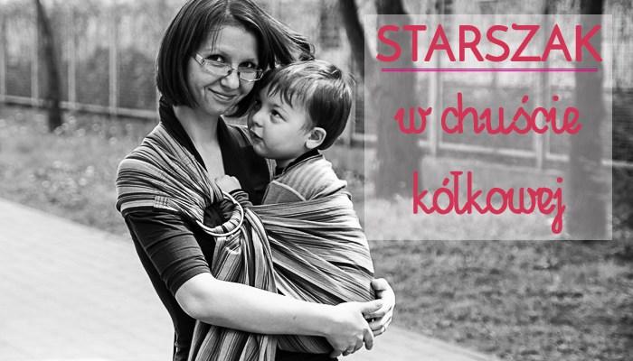 Chusta kółkowa – jak duże dzieci można w niej nosić?