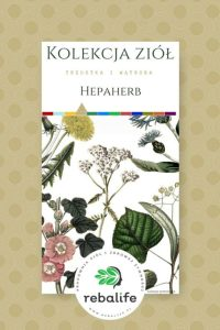 zioła na zdrową wątrobę hepaherb etykiety, mieszanki ziołowe, rebalife Karta produktu Pracownia ziół i zdrowej żywności Rebalife-28