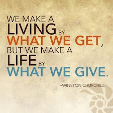 Image result for quote about giving