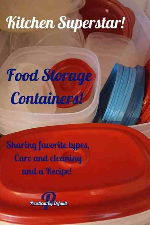 My favorite storage containers