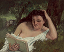 old painting of a woman reading illustrating an article about the best books to read