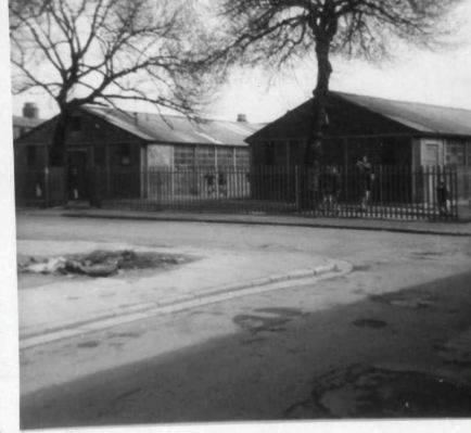 old prefab school