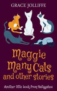 book cover from Maggie Many Cats and Other Stories by Grace Jolliffe illustrating a page on writing for children