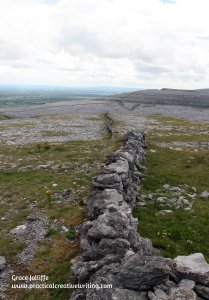 Galway hill with stone wall - illustrating an article about the symptoms of depression