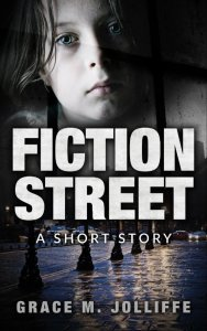 book cover showing young girl - illustrating a post about a short story called Fiction Street by Grace Jolliffe