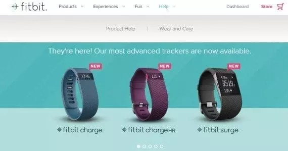 While it is the manufacturer of the product it sells, Fitbit (which sells wearable devices to monitor health and fitness) focuses on community and extensive documentation to help sell. All of this information is visible to the public, whether they buy directly or not.