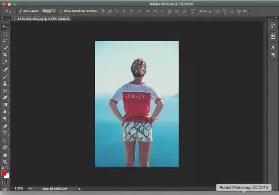 Here the example image is in Photoshop CC 2015.