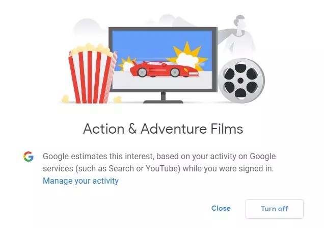 """Google knows if you watch """"Adventures: Endgame"""" trailers on YouTube."""