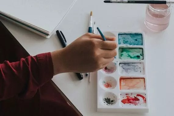 Consider content around a fun stay-at-home dating activity, such as painting.