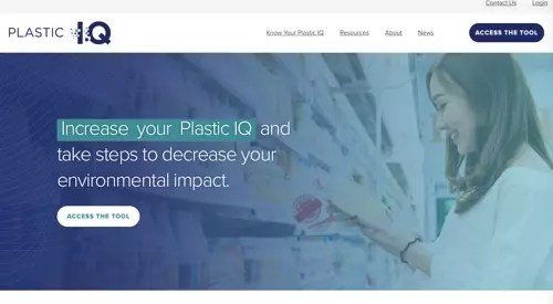 Home page of Plastic IQ
