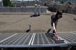 PE - how to clean a solar panel - bkusler FL resized