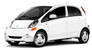 Mitsubishi MiEV electric car