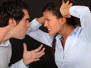 fighting in a relationship