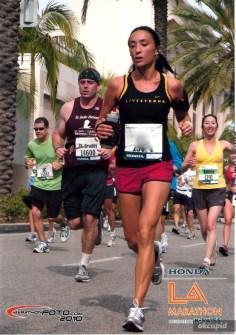 female marathon runner online dating