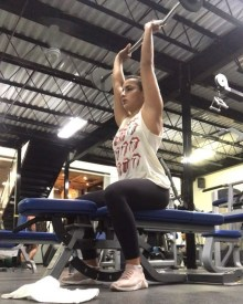 Pronated-grip curls Best Workout For Back and Biceps for Women
