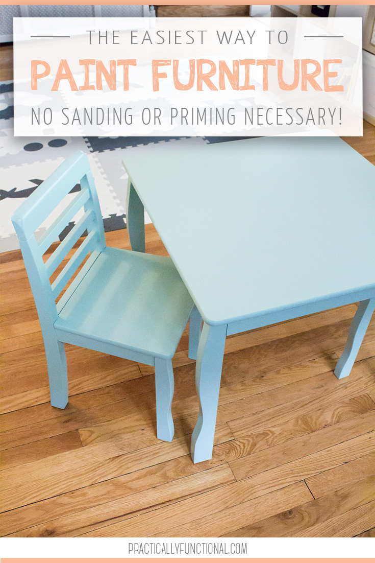 The Easiest Way To Paint Furniture No Sanding Or Priming