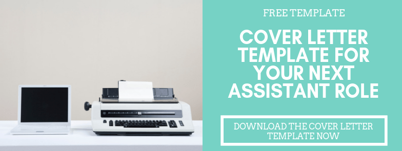 Cover letter template CTA