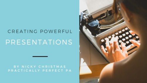 creating powerful presentations practically perfect pa