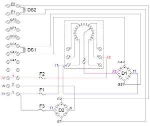 120 Vac Transformer Wiring Diagram  Circuit Diagram Maker
