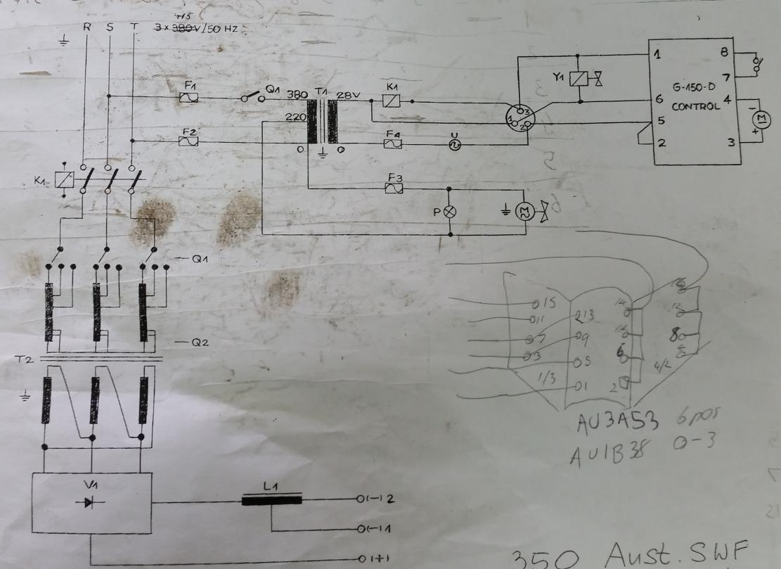 Three Phase To Single Phase Conversion Of An Old Uni Mig