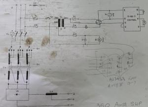 Three Phase to Single Phase Conversion of an old UniMig 350 using HaasKamp method