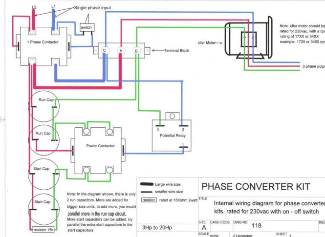 wiring diagram for rotary phase converter the wiring diagram 3 phase rotary converter wiring diagram nodasystech wiring diagram