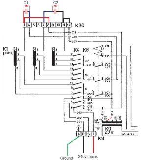 ESAB A10160K 3 phase to Singlephase via HaasKamp method