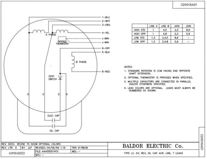 baldor wiring diagram 115 230  simple wiring diagram
