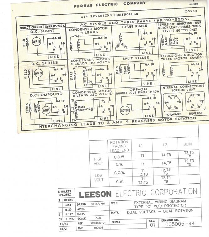 Leeson Motors Wiring Diagrams  impremedia