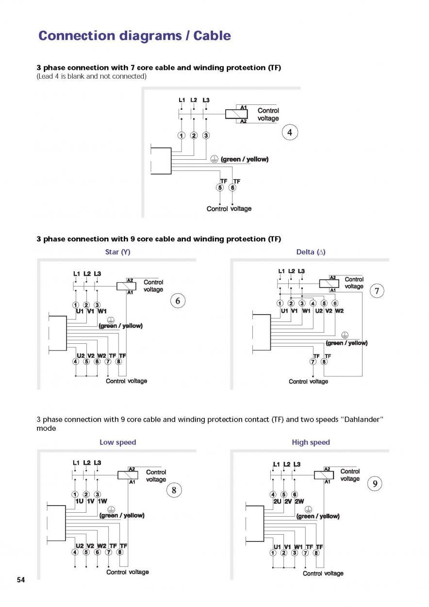 Dual Voltage Motor Wiring Single Phase - impremedia.net
