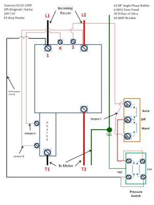 Siemens ( Furnas ) Mag Starter WS102301P (Single Phase