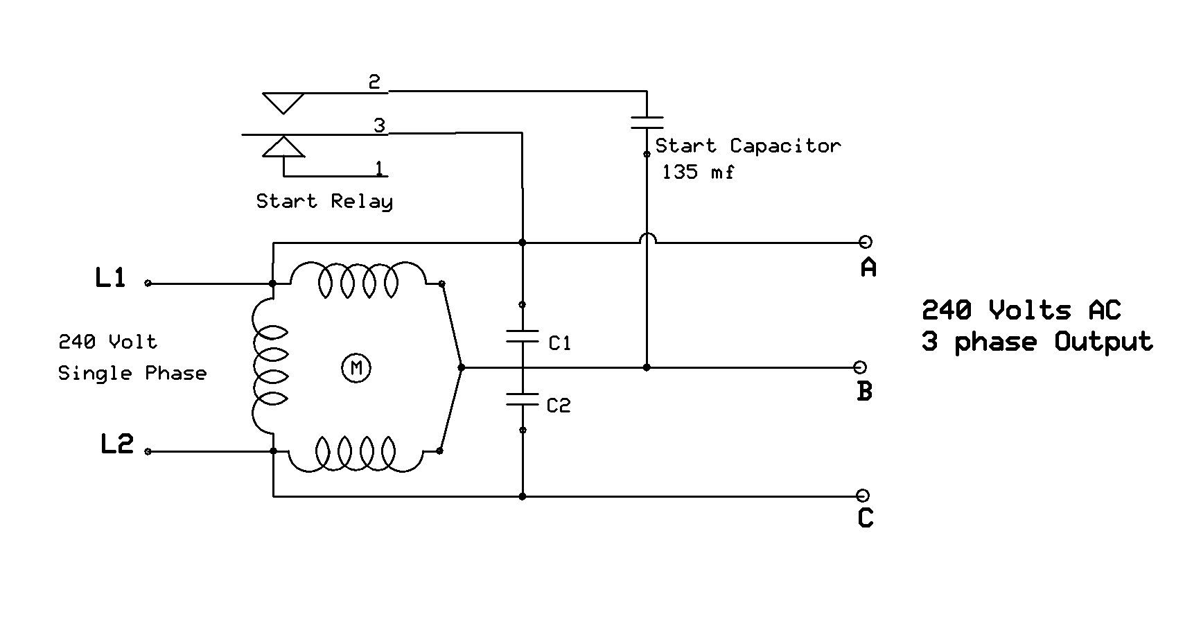 Wiring diagram for v single phase motor somurich