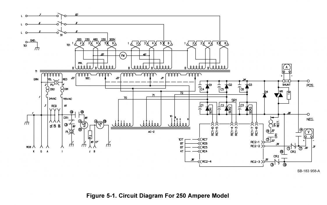 Fantastic 220v Welder Wiring Diagram Illustration - Electrical and ...