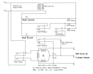 Here Are Warez Files: ROTARY PHASE CONVERTER WIRING DIAGRAM