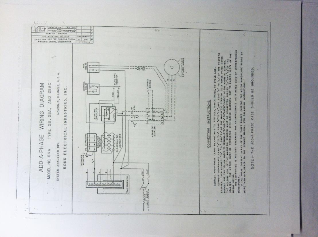 96242d1389270881 phase converter issues aap2?resize=665%2C497 ronk phase converter wiring diagram the best wiring diagram 2017 ronk phase converter wiring diagram at bakdesigns.co