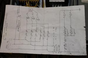 wiring lathe and VFD