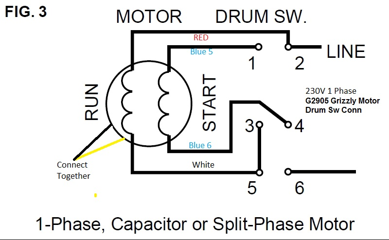 Baldor 2 Hp Single Phase Motor Wiring Diagram • Wiring And