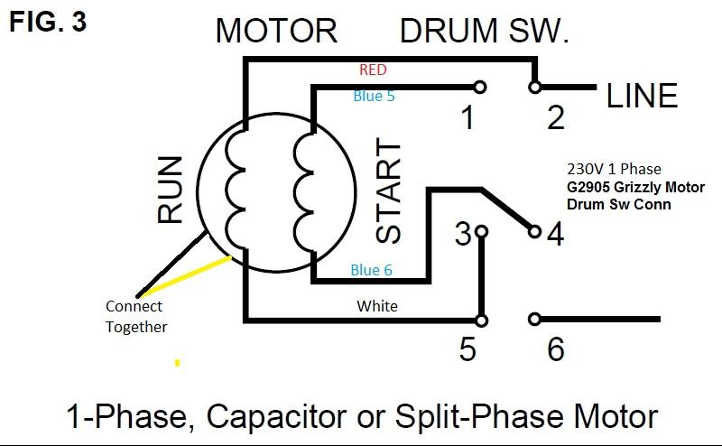 dayton reversing drum switch wiring diagram