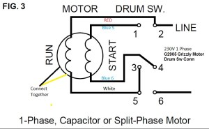 9A motordrum switch wiring help