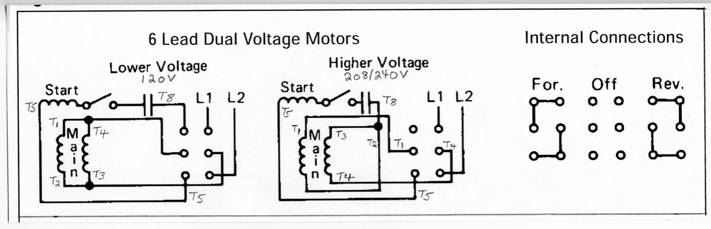 24510d1279491935 wiring new motor single phase reversing drum switch 2 6 lead 3 phase motor wiring diagram efcaviation com 3 phase motor wiring diagram 9 leads at bayanpartner.co