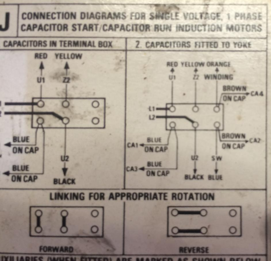 Motor Start Capacitor Wiring Diagram For 220v Reveolution Of Electric Diagrams Rh Homesecurity Press