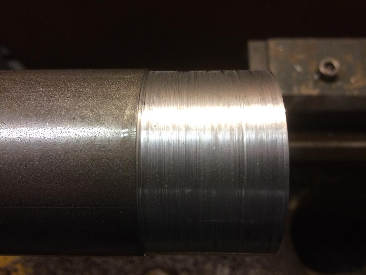 Uneven Lathe Material Removal
