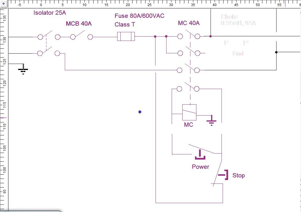 start stop station wiring diagram for vfd 3 phase