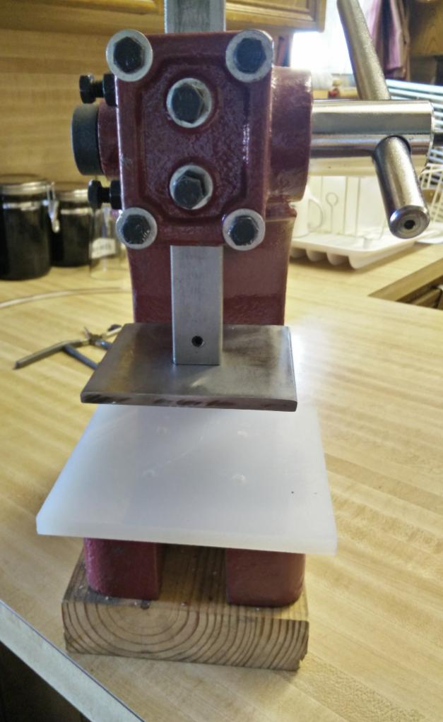 Flat Plate Attachment For Arbor Press